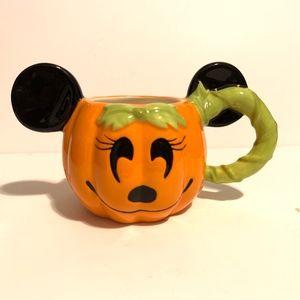 Disney Parks Halloween Minnie Mouse Mug